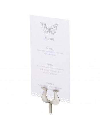 Invitaciones de boda Mariposa DL pack de 10 uds