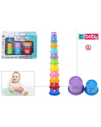 Juego Educativo Set Torre Cubos Bebe
